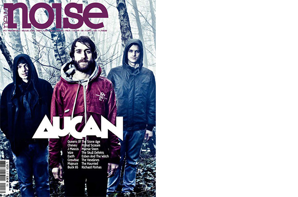 La copertina di Noise Mag del 2011