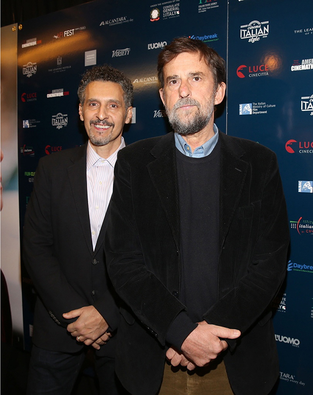 John Turturro e Nanni Moretti © Kika Press