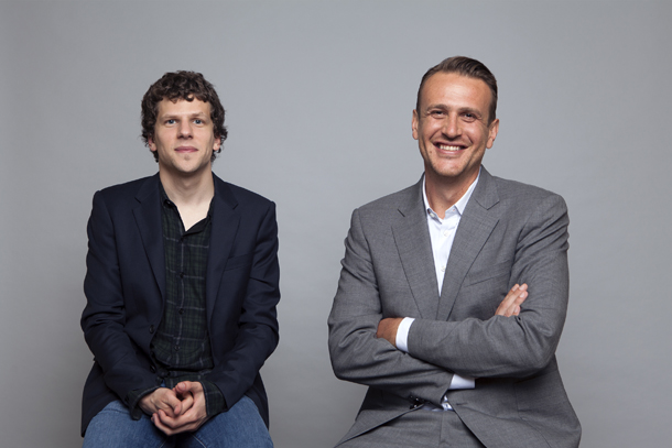 Jesse Eisenberg e Jason Segel © Photo by Rebecca Cabage/Invision/AP, File)