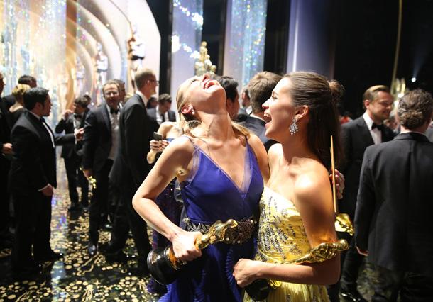 Brie Larson e Alicia Vikander © Matt Sayles/Invision/AP