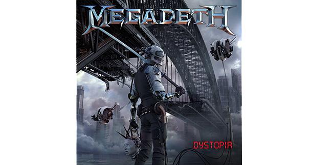 """La copertina di """"Dystopia"""""""