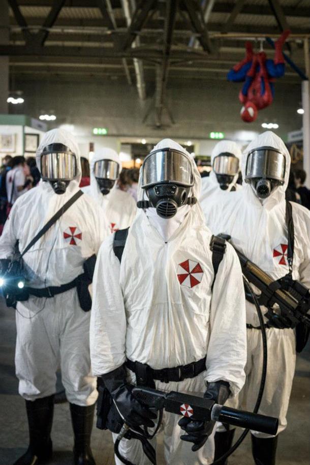Umbrella Italian Division ispirati alla serie Resident Evol.