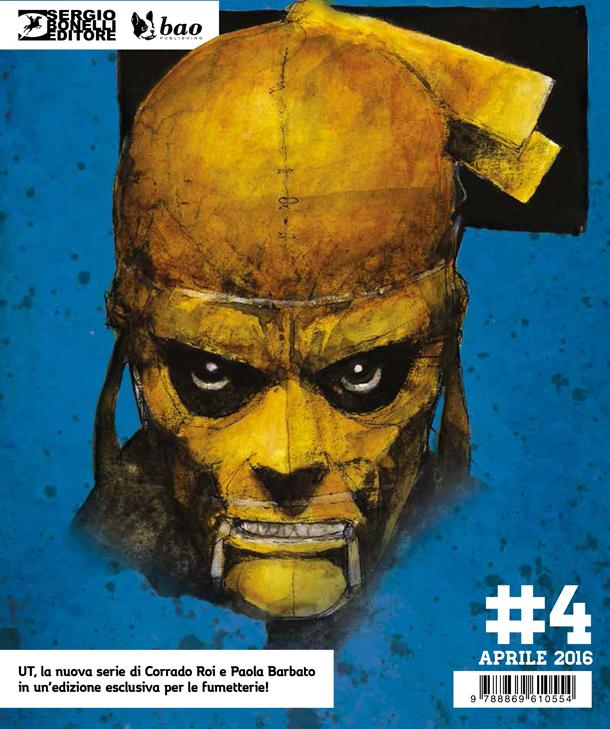 Ut la nuova miniserie presentata in anteprima a Cartoomics da Sergio Bonelli Editore