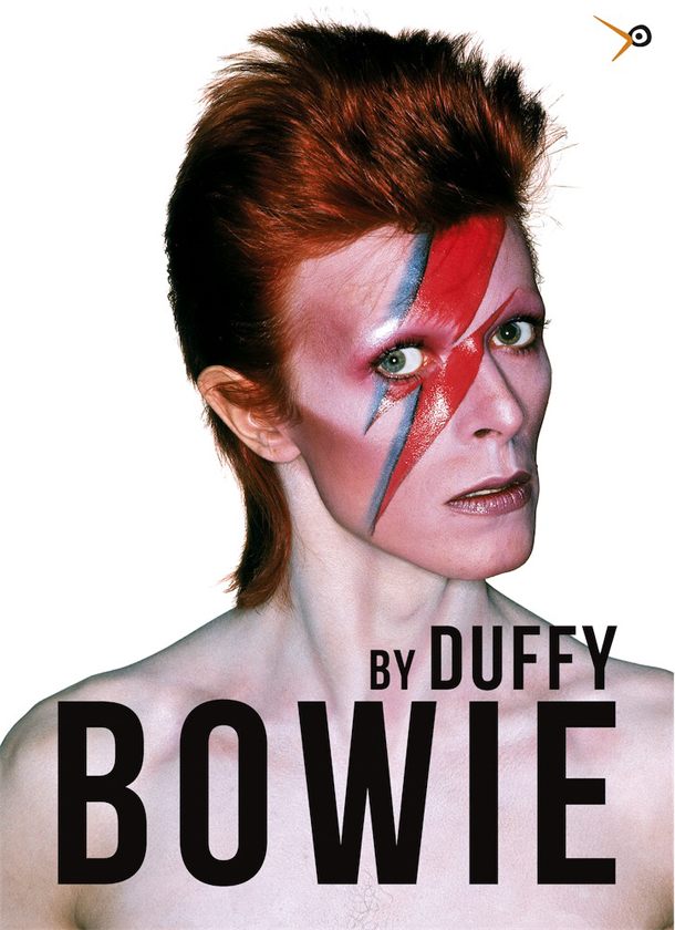 Copertina del libro Bowie by Duffy, edito in Italia da LullaBit - Photo Duffy © Duffy Archive & David Bowie Archive™