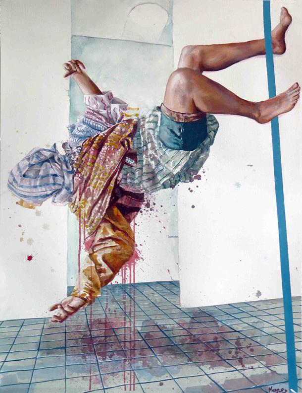 The Overdose © Fintan Magee