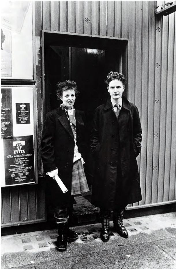 Vivienne Westwood e Malcom