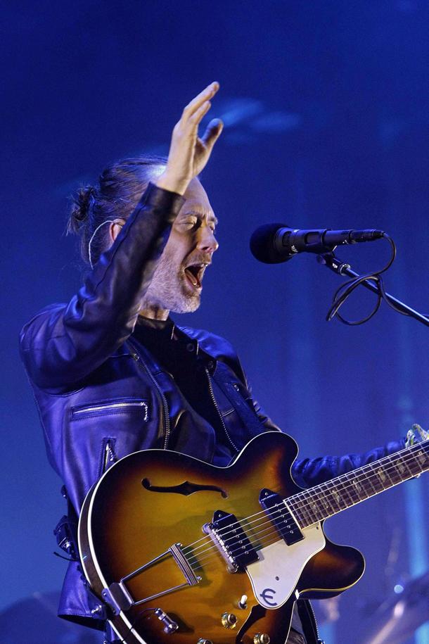 Radiohead, Thom Yorke © EPA/MARTA PEREZ