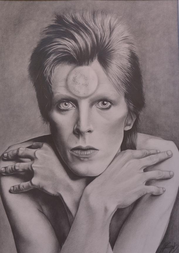 © Il ritratto inedito di Ziggy Stardust di Valentina Guiducci