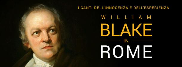 """La locandina di """" William Blake in Rome"""", 5 luglio alle 18:30"""