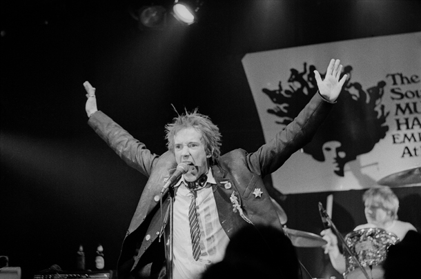 Johnny Rotten, Sex Pistols © AP Photo/Joe Holloway Jr.
