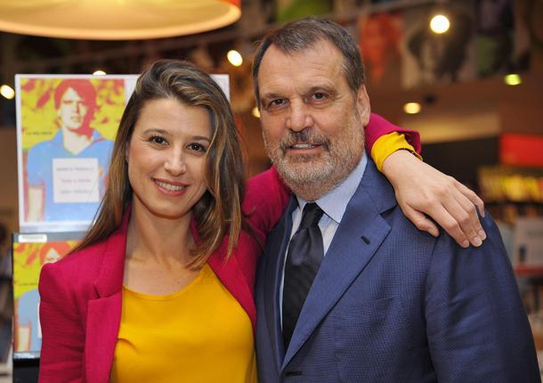 Marco Tardelli e la figlia Sara © Ansa/Giorgio Onorati