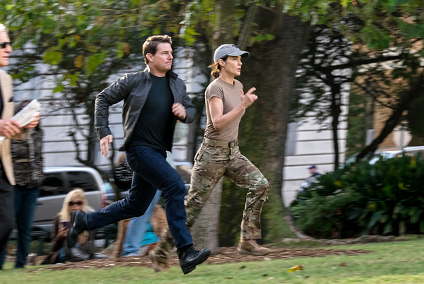 Tom Cruise e Cobie Smulders