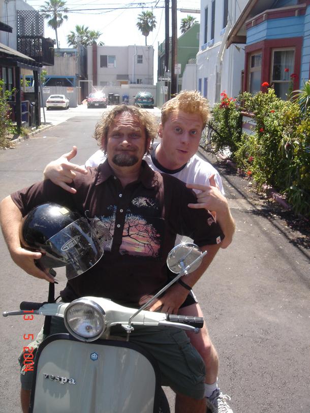 Alan e Roberto a Venice