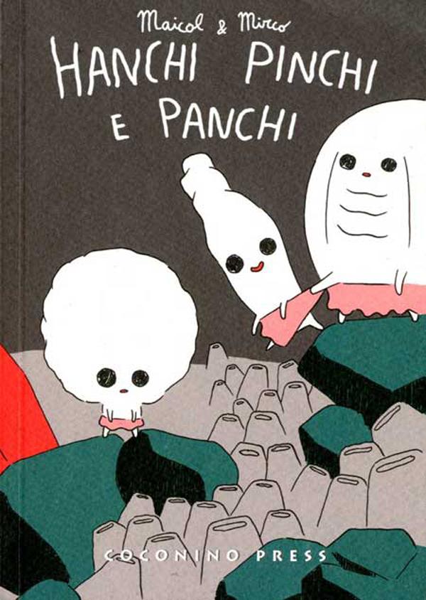 La copertina di Hanchi Pinchi e Panchi