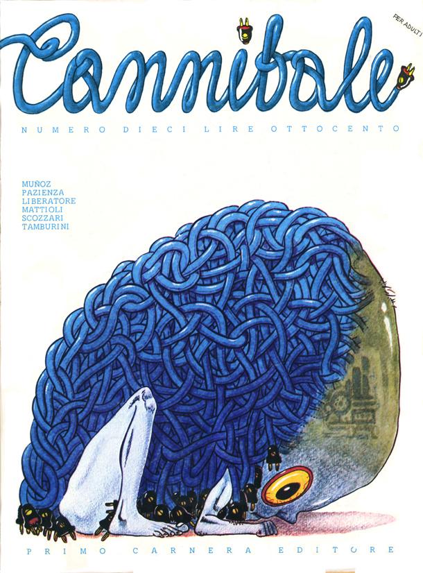 Cannibale, Scozzari. Mostra '77 Anno Cannibale