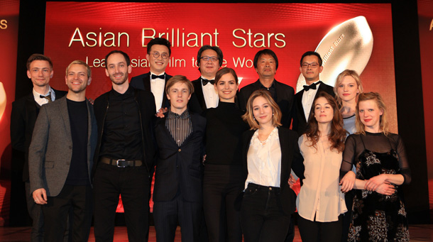 Richard Shen, i vincitori 2017 dell' Asian Brilliant Stars e dell'European Shooting Stars