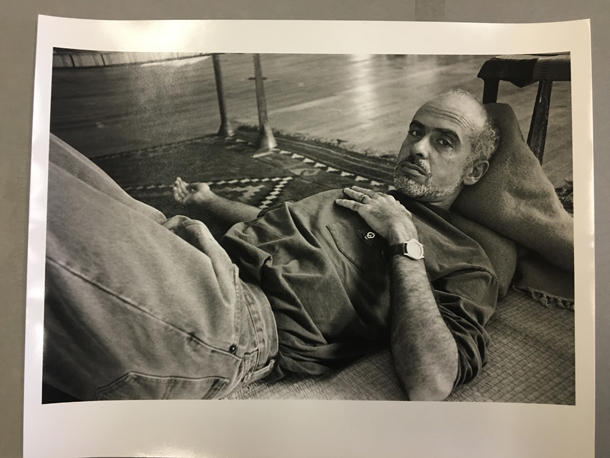 Francesco Clemente, Greenwich Village, N.Y.C. 1992©Allen Ginsberg Estate, New York Courtesy Photology