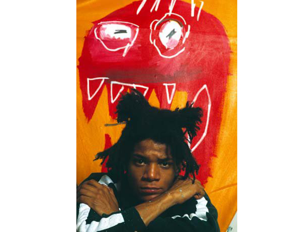 Jean Michael Basquiat, NYC 1983 ©Gianfranco Gorgoni _ Courtesy Photology