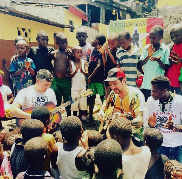 Frank Turner in Sierra Leone