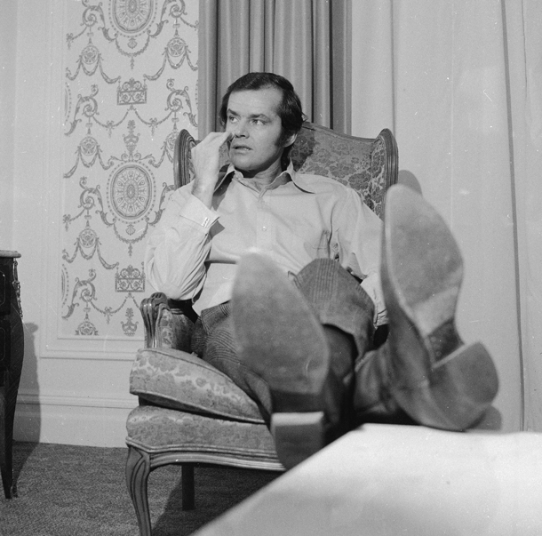 Jack Nicholson, 1970 © AP Photo