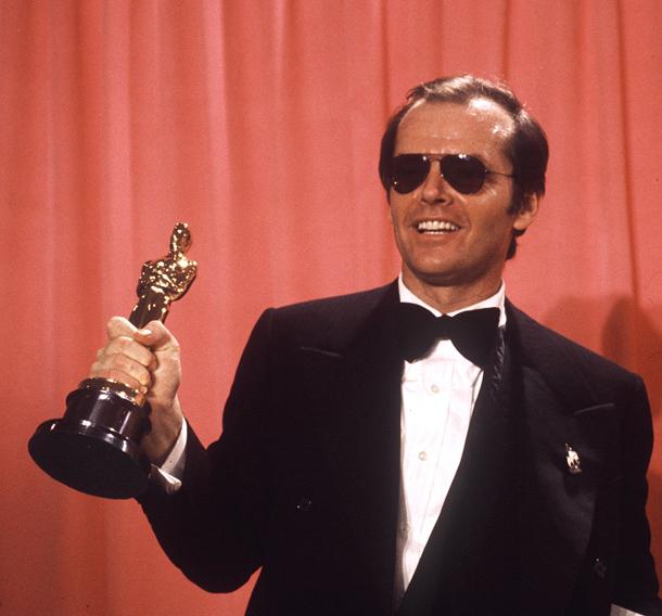 "Premio Oscar Miglior Attore Protagonista per ""Qualcuno volò sul nido del cuculo , 1975) © AP Photo,"