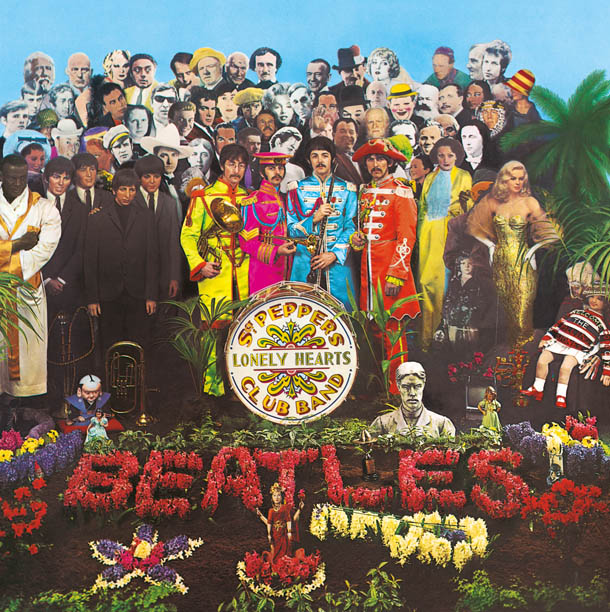 Sgt Pepper Original Cover