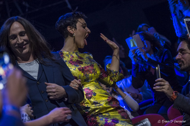 Manuel Agnelli e Arisa a X Factor © Elena Di Vincenzo