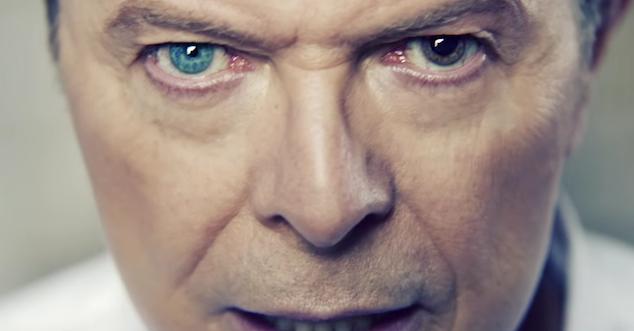 Un primo piano del Duca Bianco, ovvero David Bowie