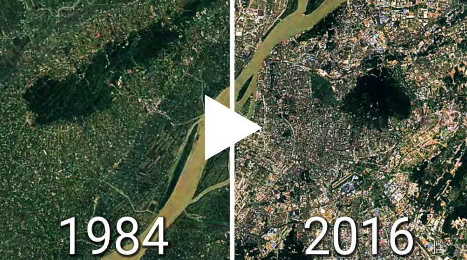 L impressionante trasformazione in timelapse delle for Metropoli in italia