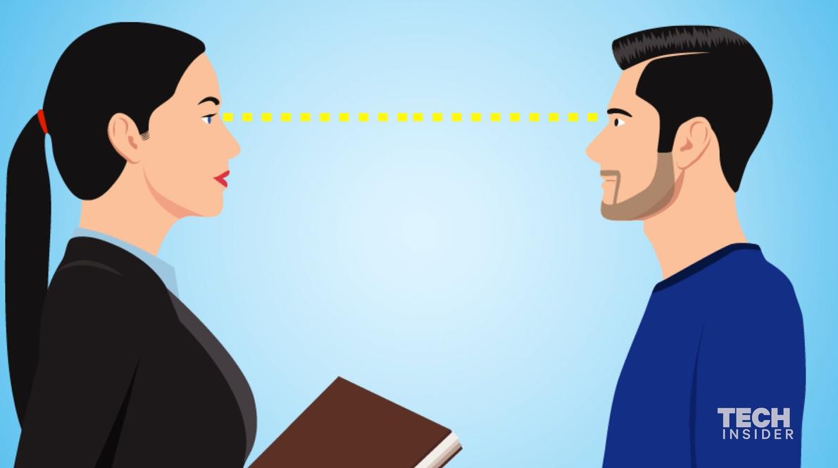 Quanto tempo puoi guardare una persona negli occhi (prima che l'aria si  faccia pesante) | Business Insider Italia