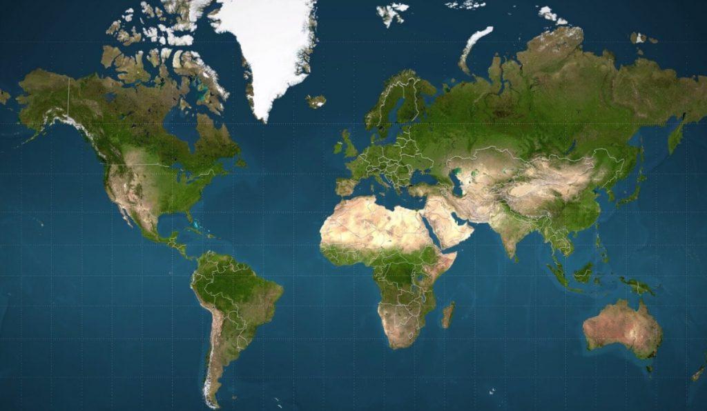 Cartina Mondo Google Maps.Perche La Mappa Piu Usata Al Mondo E Ingannevole Business Insider Italia