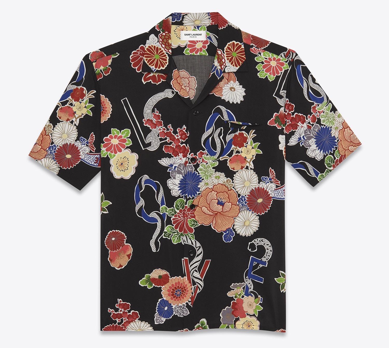 7) YSL camicia fiori - Copia