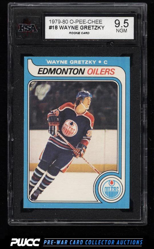 12) Figurina del 1979 O-Pee-Chee Hockey Wayne Gretzky Rookie