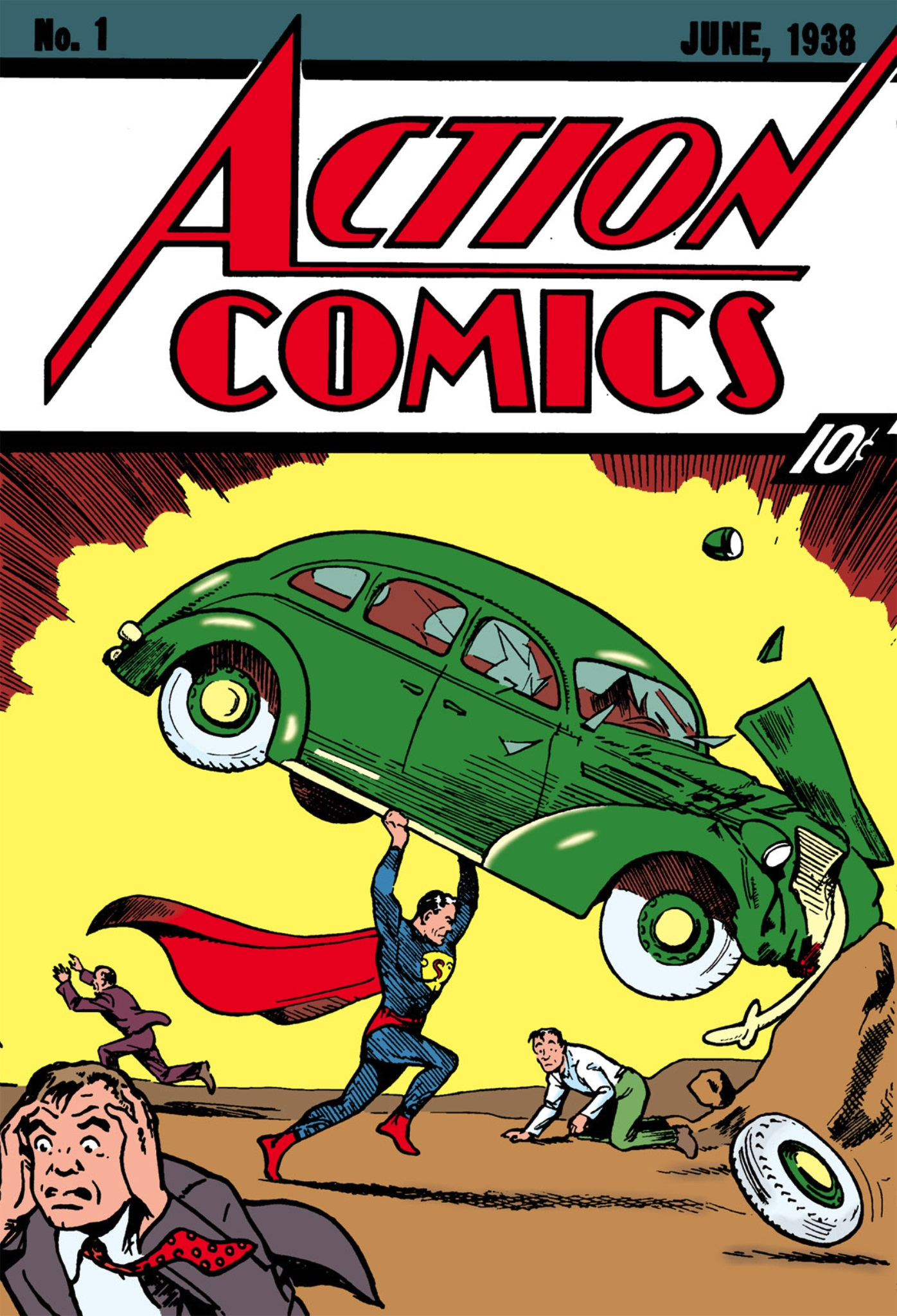 14) Fumetto Action Comics #1 da record