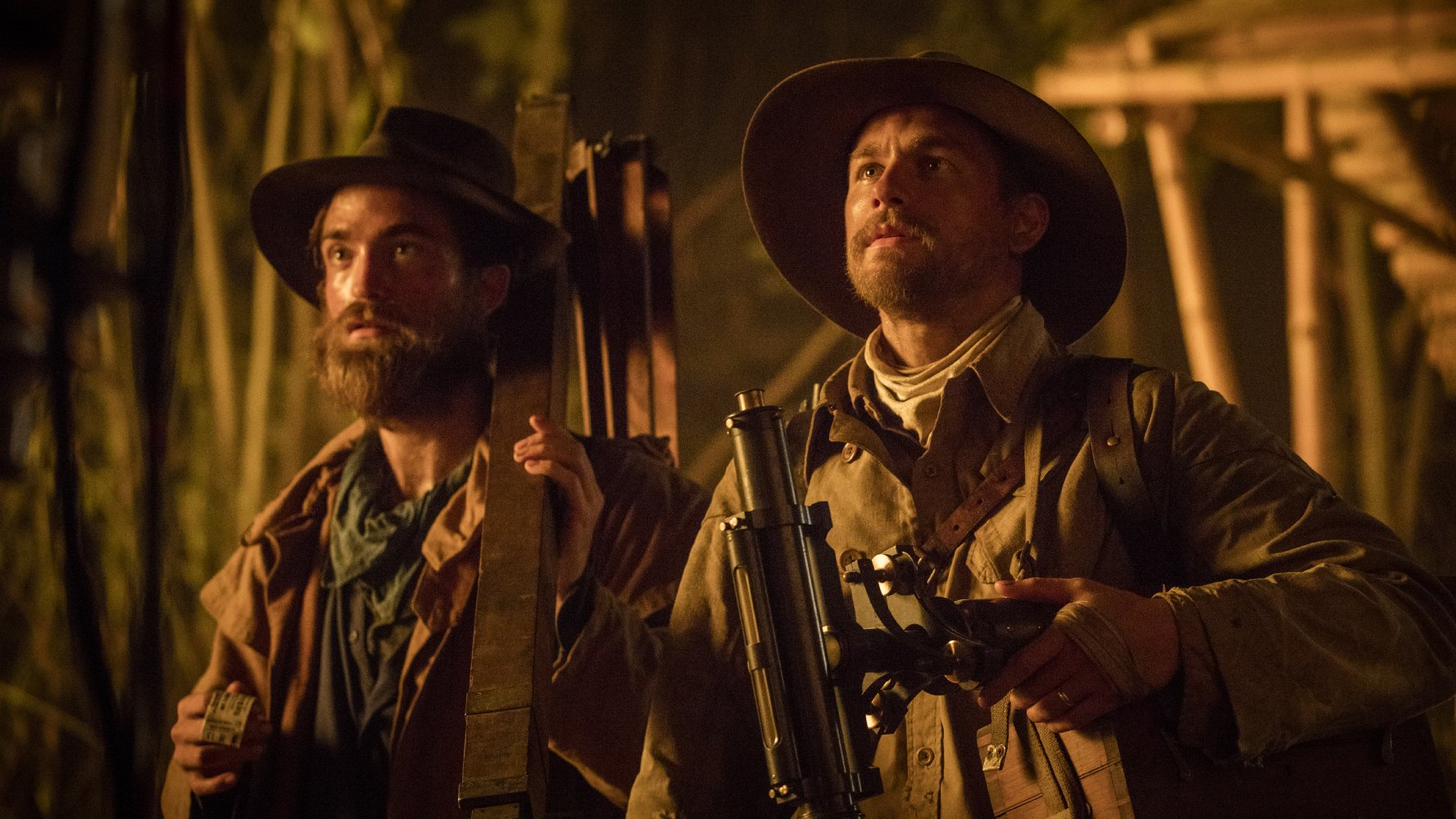 Civilta perduta Robert Pattinson e Charlie Hunnam