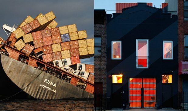 La seconda vita dei container all insegna del glamour - Casa container italia ...