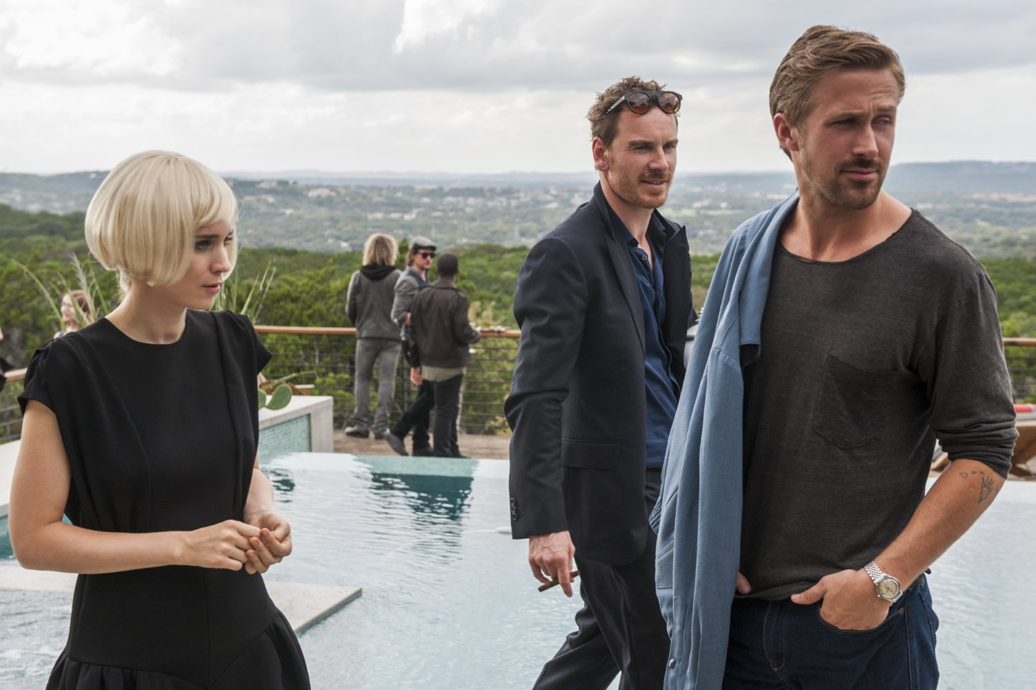 SONG TO SONG Rooney Mara - Fassbender e Gosling