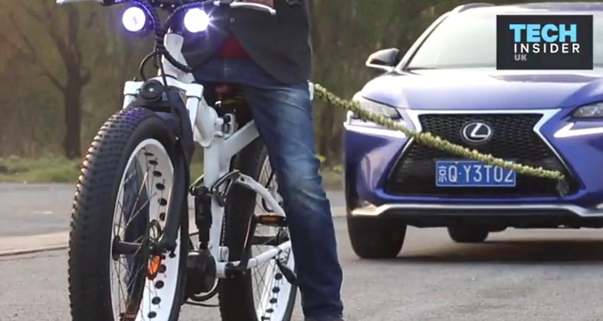 Questa Bici Elettrica è Così Potente Da Trainare Un Suv Business