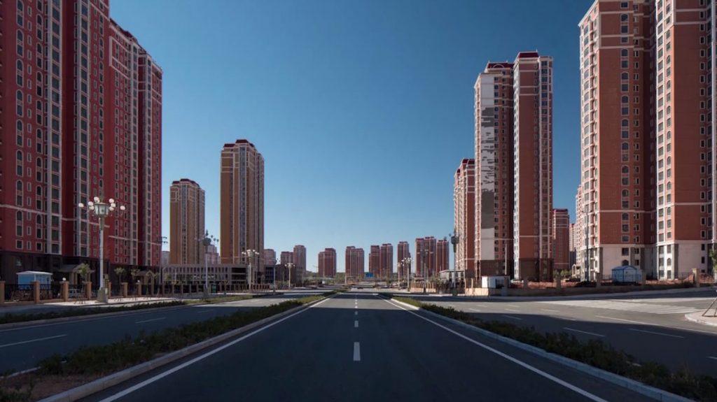 Benvenuti a ordos la metropoli fantasma le immagini for Metropoli in italia