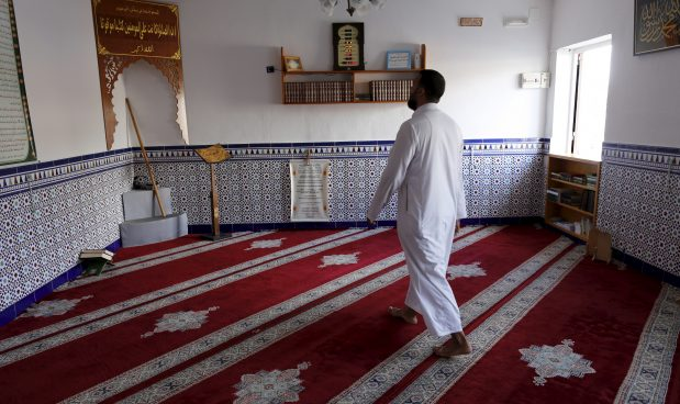 Spain Algeciras mosque Muslim