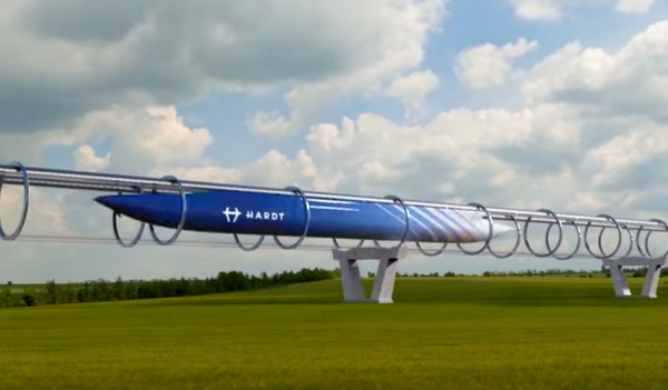 Da amsterdam a parigi in 30 minuti entro il 2021 la sfida for Hyperloop italia