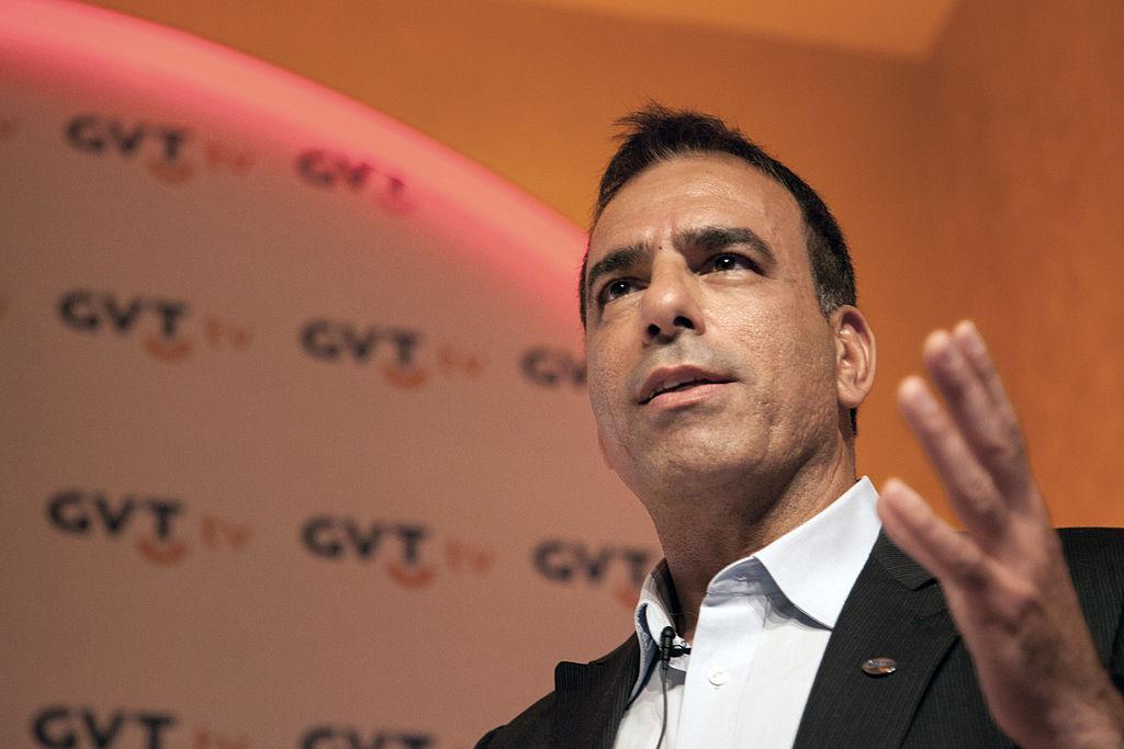 Amos Genish, fondatore della società brasiliana Gvt poi venduta a Telefonica. YASUYOSHI CHIBA/AFP/Getty Images
