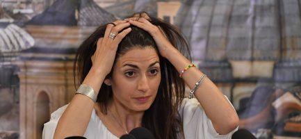 Virginia Raggi, sindaco di Roma. Tiziana Fabi/AFP/Getty Images