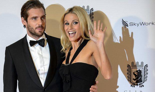 e90a851a8a Tomaso Trussardi e Michelle Hunziker, Gala di Berna, novembre 2012 - foto di  FABRICE COFFRINI/AFP/Getty Images