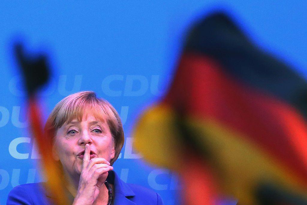 Angela Merkel. Alexander Hassenstein  Getty Images