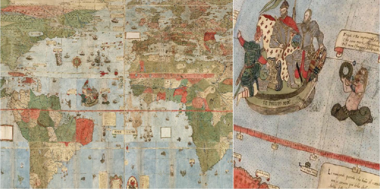 Cartina 1500.La Piu Grande Mappa Del Mondo Ai Tempi Del Rinascimento Video Business Insider Italia
