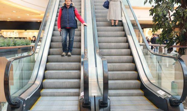 Ecco perch il corrimano delle scale mobili pi veloce for Mobili piu