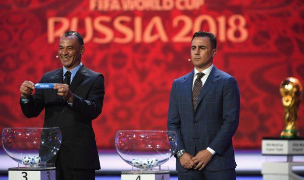 MOSCA RUSSIA DICEMBRE 2017 Cafu e Cannavaro- Shaun Botterill  Getty Images