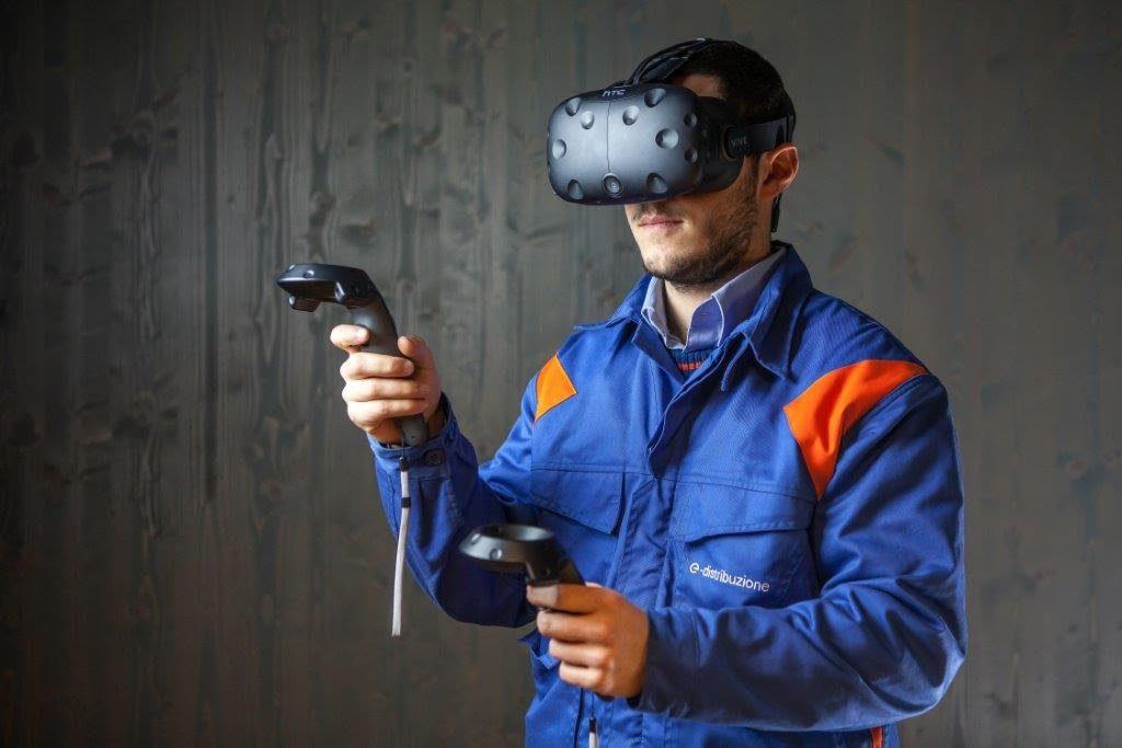 E i tecnici Enel imparano a risolvere i guasti con la realtà virtuale