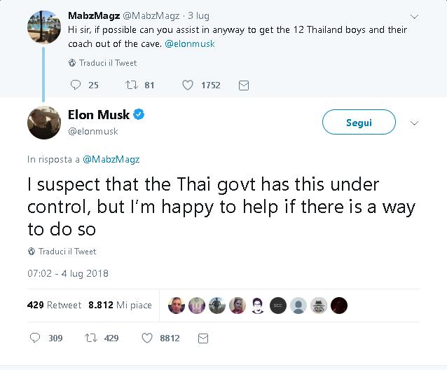 Musk thailandia